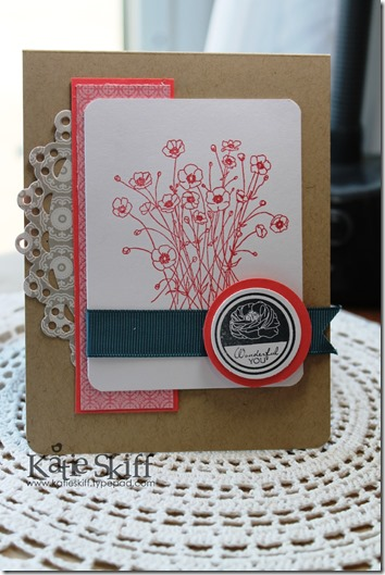 TSG Buttercup, Mother's Day card
