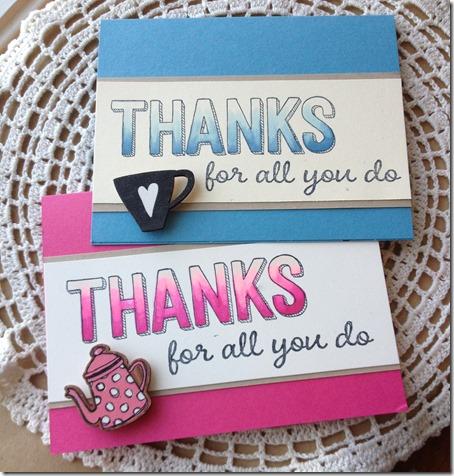 2 Teacher Cards