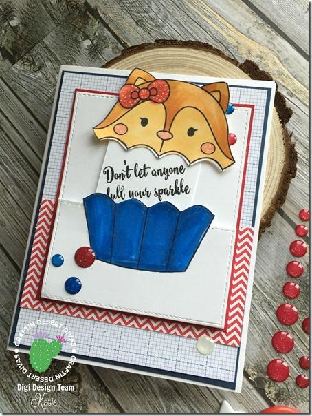 CDD Foxy Cupcake